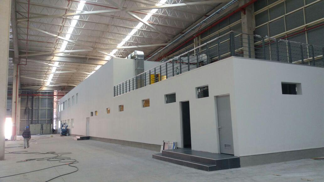 Camarines y Operaciones TEVA Bodenor Flexcenter